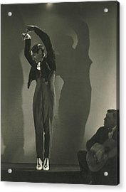 Vicente Escudero Dancing Acrylic Print