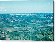 Vicenza Italy 1962  Acrylic Print by Cumberland Warden