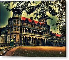 Viceregal Lodge Shimla Acrylic Print by Salman Ravish