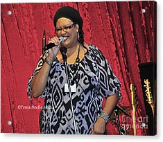 Acrylic Print featuring the photograph Vicki Stevens by Tonia Noelle