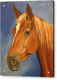 Acrylic Print featuring the painting Victor by Carol Hart