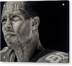 Victor Cruz Drawing Acrylic Print