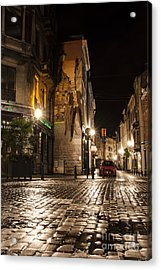 Victor Sackville In The Dark Acrylic Print by Juli Scalzi