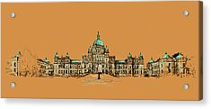 Victoria Art 005 Acrylic Print by Catf