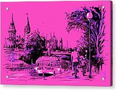 Victoria Art 012 Acrylic Print by Catf