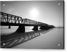 Victoria Bridge 1 Acrylic Print by Eric Soucy