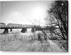 Victoria Bridge 4 Acrylic Print by Eric Soucy