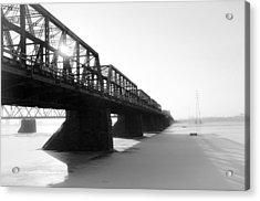Victoria Bridge 5 Acrylic Print by Eric Soucy