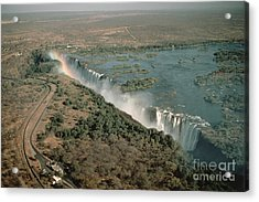 Victoria Falls Acrylic Print by Gregory G. Dimijian
