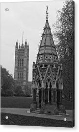 Acrylic Print featuring the photograph Victoria Tower Garden by Maj Seda