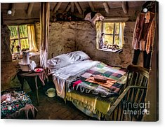 Victorian Bedroom Acrylic Print by Adrian Evans