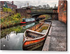 Victorian Canal Acrylic Print by Adrian Evans