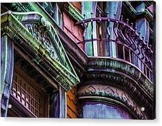 Victorian Color Acrylic Print by Raymond Kunst