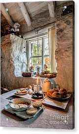 Victorian Cottage Breakfast V.2 Acrylic Print by Adrian Evans