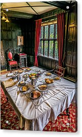 Victorian Dining Acrylic Print by Adrian Evans