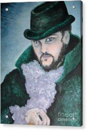 Victorian Gentleman Acrylic Print