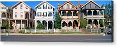 Victorian Homes In Cape May, New Jersey Acrylic Print