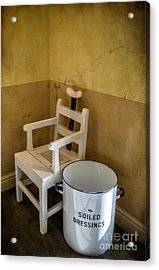 Victorian Hospital Chair Acrylic Print by Adrian Evans