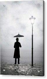 Victorian Man Acrylic Print by Joana Kruse