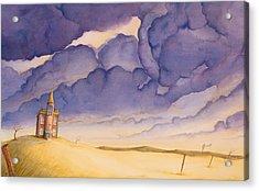 Victorian Meadows I Acrylic Print by Scott Kirby