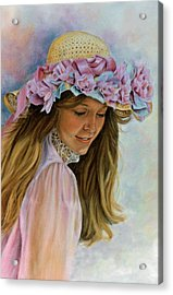 Acrylic Print featuring the painting Victorian Memories by Ann Peck