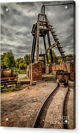 Victorian Mine Acrylic Print by Adrian Evans