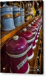 Victorian Pharmacy Acrylic Print by Adrian Evans