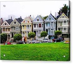 San Francisco Architecture Acrylic Print by Oleg Zavarzin