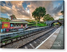 Victorian Station Acrylic Print by Adrian Evans