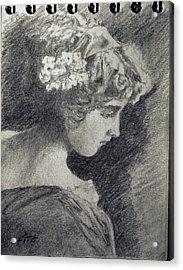 Victorian Teen Acrylic Print