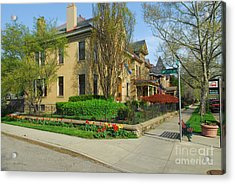 D47l-15 Victorian Village Photo Acrylic Print