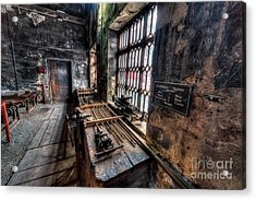 Victorian Workshops Acrylic Print by Adrian Evans