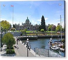 Victoria's Parliament Buildings Acrylic Print