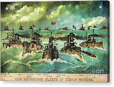 Victorious Navy - 1898 Acrylic Print