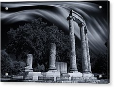 Acrylic Print featuring the photograph Victory At The Battle Of Chaeronea by Micah Goff