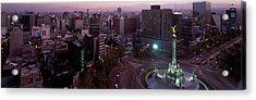 Victory Column In A City, Independence Acrylic Print