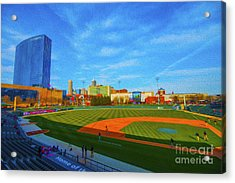 Victory Field 1 Acrylic Print by David Haskett