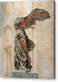 Victory Of Samothrace Acrylic Print