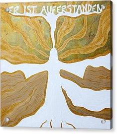 Victory Acrylic Print by Sandra Yegiazaryan