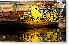 Vida Marinha Acrylic Print