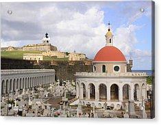 Viejo San Juan Acrylic Print by Daniel Sheldon