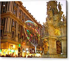 Acrylic Print featuring the photograph Vienna by Julia Ivanovna Willhite