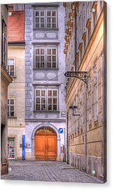 Vienna  Mozarthaus Acrylic Print