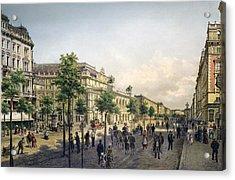 Vienna Opera, 1880s Acrylic Print by Granger