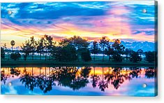 Viera Sunrise Scene 2 Acrylic Print