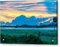 Viera Sunrise Scene 4 Acrylic Print