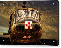 Vietnam Era Medivac 369 Helicopter Acrylic Print