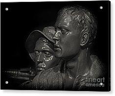 Vietnam Memorial No. 1 Acrylic Print by Jerry Fornarotto