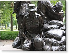 Vietnam Nurses Memorial  Faith Acrylic Print