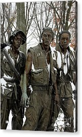 Vietnam Veterans Memorial Acrylic Print